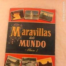 Coleccionismo Álbum: ÁLBUM MARAVILLAS DEL MUNDO TOMO I EDITORIAL BRUGUERA COLECCION CULTURA .. Lote 79645109