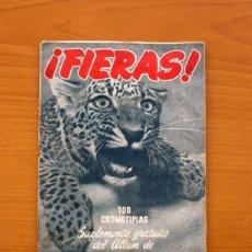 Coleccionismo Álbum: ÁLBUM FIERAS - SUPLEMENTO DE LAS MINAS DEL REY SALOMÓN - EDICIONES CLIPER 1952 - COMPLETO -VER FOTOS. Lote 80620258