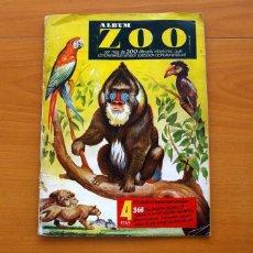 Coleccionismo Álbum: ÁLBUM ZOO - EDICIONES CLIPER 1954 - COMPLETO - VER FOTOS EN EL INTERIOR. Lote 80629330