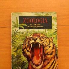 Coleccionismo Álbum: ÁLBUM ZOOLOGÍA EL MUNDO DE LOS ANIMALES - COMPLETO - EDITORIAL FERCA 196 - VER FOTOS EN EL INTERIOR . Lote 80747650