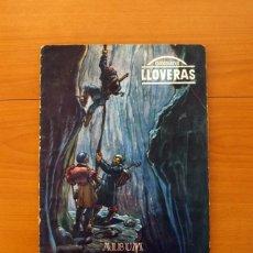 Coleccionismo Álbum: ÁLBUM VIAJE AL CENTRO DE LA TIERRA - CHOCOLATE LLOVERAS 1958 - COMPLETO - VER FOTOS EN EL INTERIOR . Lote 80819275