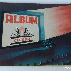 Coleccionismo Álbum: ALBUM CIFESA DE LA PRODUCTORA VALENCIANA DE CINE. AÑOS 40, COMPLETO. MUY RARO DE ENCONTRAR. HEMOS PU. Lote 80950184
