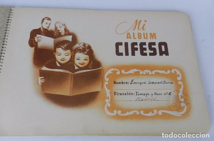 Coleccionismo Álbum: ALBUM CIFESA DE LA PRODUCTORA VALENCIANA DE CINE. AÑOS 40, COMPLETO. MUY RARO DE ENCONTRAR. HEMOS PU - Foto 2 - 80950184