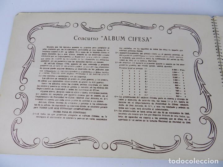 Coleccionismo Álbum: ALBUM CIFESA DE LA PRODUCTORA VALENCIANA DE CINE. AÑOS 40, COMPLETO. MUY RARO DE ENCONTRAR. HEMOS PU - Foto 21 - 80950184