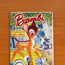 Coleccionismo Álbum: ÁLBUM BAMBI - WALT DISNEY - EDITORIAL FHER 1950 - COMPLETO - VER FOTOS EN EL INTERIOR. Lote 81015904