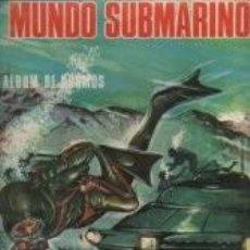 Coleccionismo Álbum: MUNDO SUBMARINO-NUEVO Y COMPLETO. Lote 81114768