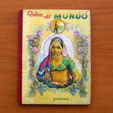 Coleccionismo Álbum: RETINA DEL MUNDO - 2º ÁLBUM SALSAFRÁN 1943 - COMPLETO - VER FOTOS EN EL INTEROR. Lote 81359908