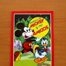 Coleccionismo Álbum: ÁLBUM AVENTURAS DE MICKEY Y SUS AMIGOS - WALT DISNEY - EDITORIAL FHER 1976 - COMPLETO- VER FOTOS. Lote 81429256