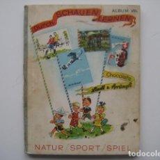 Coleccionismo Álbum: ÁLBUM CROMOS LINDT SPRUNGLI VIII. SUIZA 1936.ENCICLOPÉDICO.312 CROMOS PRECIOSOS.. Lote 81446048