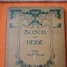 Coleccionismo Álbum: ÁLBUM CROMOS VERKADE BOSCH EN HEIDE 1913. JAC P.THIJSSE.COMPLETO 144 CROMOS MUY DIFÍCIL. Lote 81511892