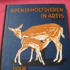 Coleccionismo Álbum: ÁLBUM CROMOS VERKADE APEN EN HOEFDIEREN IN ARTIS (JAC P. THIJSSE)1940. COMPLETO 144 CROMOS IMPECABLE. Lote 81528216