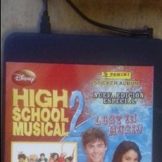Coleccionismo Álbum: HIGH SCHOOL MUSICAL 2. DISNEY COMPLETO PERFECTO ESTADO. Lote 81574996