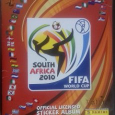 Coleccionismo Álbum: ALBUM SOUTH AFRICA 2010 FIFA WORLD CUP. COMPLETO PERFECTO ESTADO. Lote 81576700
