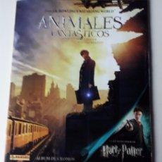 Collezionismo Álbum: HARRY POTTER. ANIMALES FANTÁSTICOS Y DÓNDE ENCONTRARLOS. COLECCIÓN COMPLETA. CROMOS SIN PEGAR. Lote 254268920