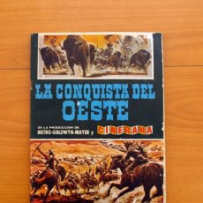 Coleccionismo Álbum: ÁLBUM LA CONQUISTA DEL OESTE - EDITORIAL BRUGUERA 1963 - COMPLETO - VER FOTOS INTERIOR . Lote 81752668