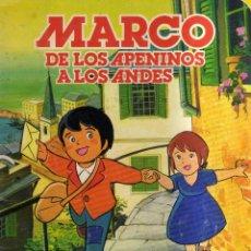 Coleccionismo Álbum: ALBUM COMPLETO MARCO DE LOS APENINOS A LOS ANDES DANONE 1976. Lote 81931268
