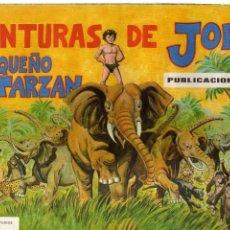 Coleccionismo Álbum: AVENTURAS DE JORGE EL PEQUEÑO TARZÁN EDITORIAL COSTA 1969 COMPLETO 108 CROMOS. Lote 81935864