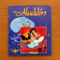 Coleccionismo Álbum: ÁLBUM ALADDÍN - WALT DISNEY - EDITORIAL PANINI - COMPLETO - VER FOTOS ADICIONALES. Lote 81983036