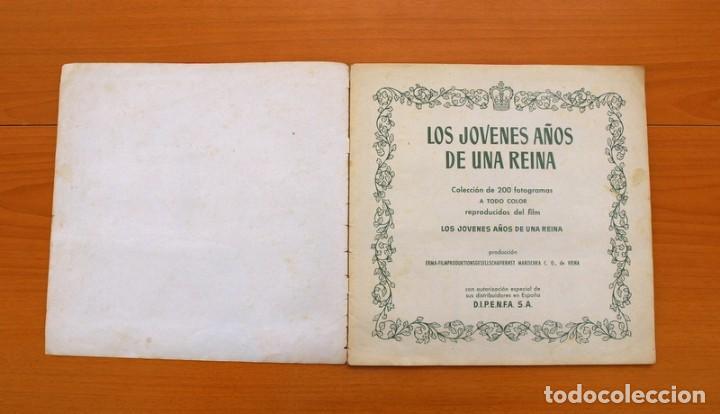 Coleccionismo Álbum: Álbum Los jóvenes años de una reina - Editorial Bruguera 1958 -Completo -Ver fotos adicionales - Foto 2 - 81990292