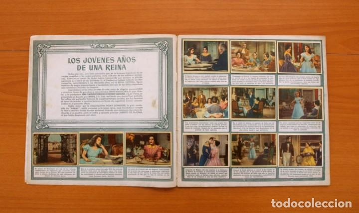 Coleccionismo Álbum: Álbum Los jóvenes años de una reina - Editorial Bruguera 1958 -Completo -Ver fotos adicionales - Foto 3 - 81990292