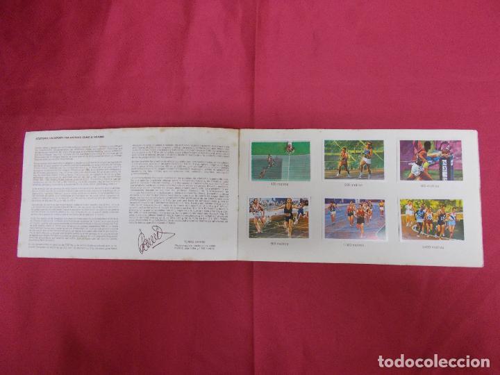 Coleccionismo Álbum: ALBUM COMPLETO. EL DEPORTE VISTO POR SUS ASES. Nº 1. ATLETISMO. CHOCOSPORT/ NESTLE. - Foto 2 - 82665780