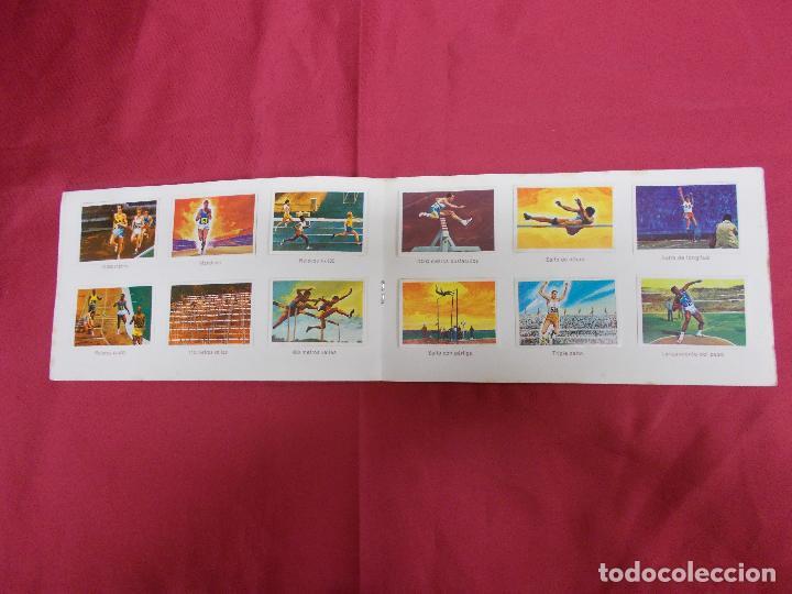 Coleccionismo Álbum: ALBUM COMPLETO. EL DEPORTE VISTO POR SUS ASES. Nº 1. ATLETISMO. CHOCOSPORT/ NESTLE. - Foto 3 - 82665780