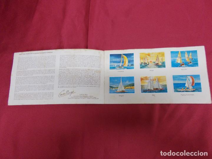 Coleccionismo Álbum: ALBUM COMPLETO. EL DEPORTE VISTO POR SUS ASES. Nº 8. REMO Y VELA. CHOCOSPORT/ NESTLE. - Foto 2 - 82667040