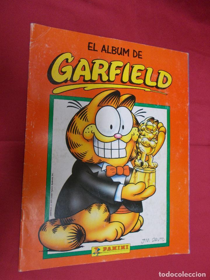 ALBUM DE CROMOS. EL ALBUM DE GARFIELD. COMPLETO. PANINI. (Coleccionismo - Cromos y Álbumes - Álbumes Completos)