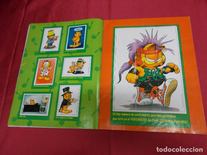 Coleccionismo Álbum: ALBUM DE CROMOS. EL ALBUM DE GARFIELD. COMPLETO. PANINI. - Foto 4 - 82672512