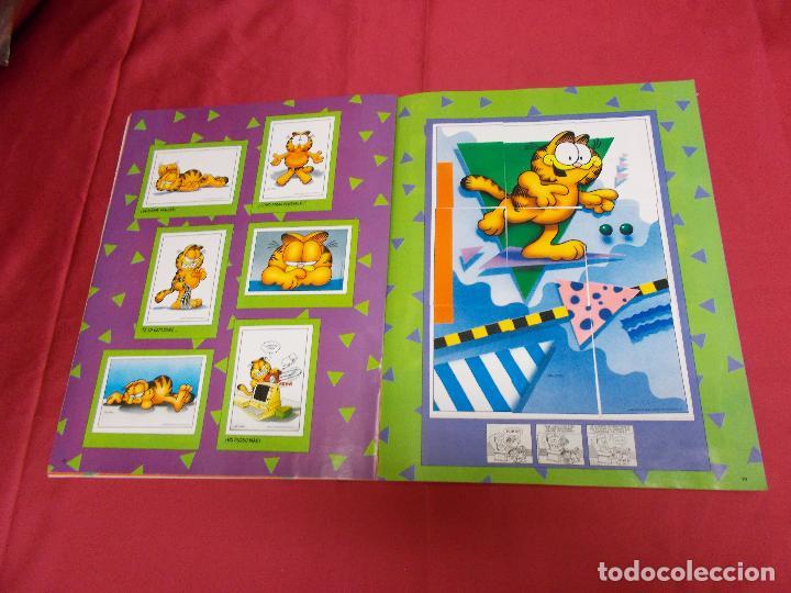Coleccionismo Álbum: ALBUM DE CROMOS. EL ALBUM DE GARFIELD. COMPLETO. PANINI. - Foto 12 - 82672512