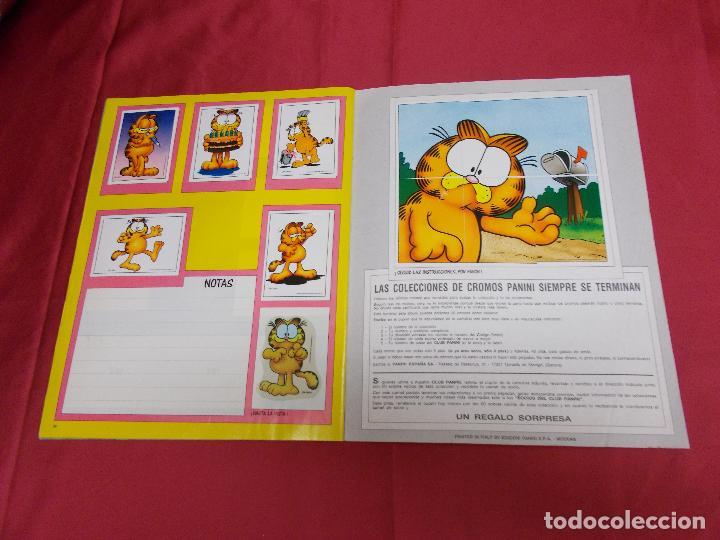 Coleccionismo Álbum: ALBUM DE CROMOS. EL ALBUM DE GARFIELD. COMPLETO. PANINI. - Foto 19 - 82672512