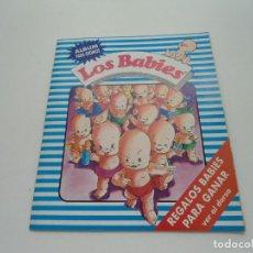 Coleccionismo Álbum: LOS BABIES - ED. IDEAL IBERICA - ALBUM COMPLETO - COLECCION COMPLETA - PERFECTO - 1992 - RARO. Lote 82742192