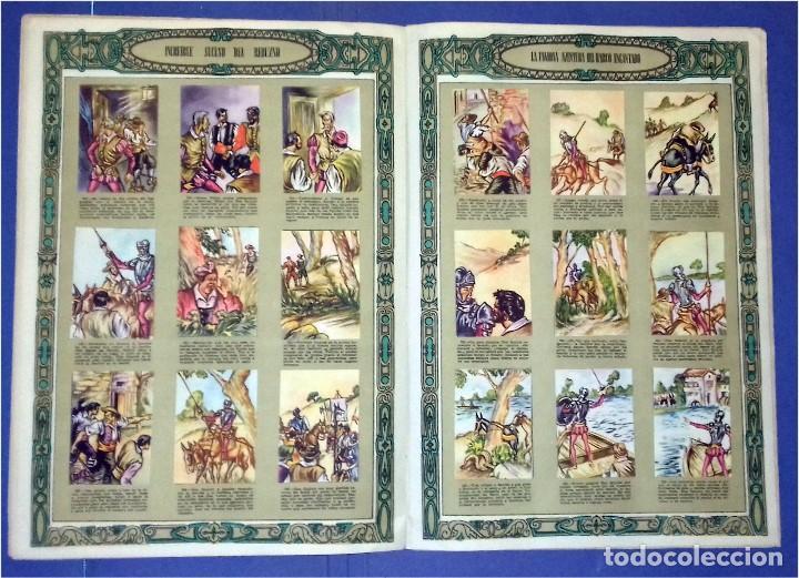 Coleccionismo Álbum: EDICIONES ESPAÑA - DON QUIJOTE DE LA MANCHA- COMPLETO Y MUY DIFÍCIL (1947) IV Centenario Nacimiento - Foto 3 - 82945112