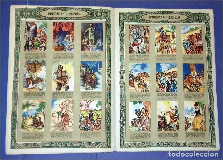 Coleccionismo Álbum: EDICIONES ESPAÑA - DON QUIJOTE DE LA MANCHA- COMPLETO Y MUY DIFÍCIL (1947) IV Centenario Nacimiento - Foto 5 - 82945112