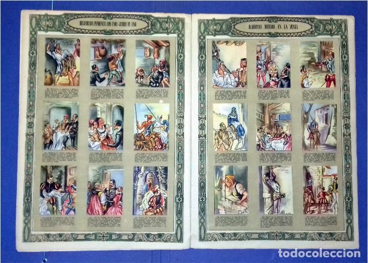 Coleccionismo Álbum: EDICIONES ESPAÑA - DON QUIJOTE DE LA MANCHA- COMPLETO Y MUY DIFÍCIL (1947) IV Centenario Nacimiento - Foto 6 - 82945112