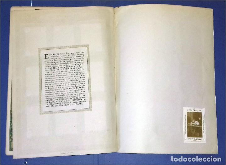 Coleccionismo Álbum: EDICIONES ESPAÑA - DON QUIJOTE DE LA MANCHA- COMPLETO Y MUY DIFÍCIL (1947) IV Centenario Nacimiento - Foto 7 - 82945112