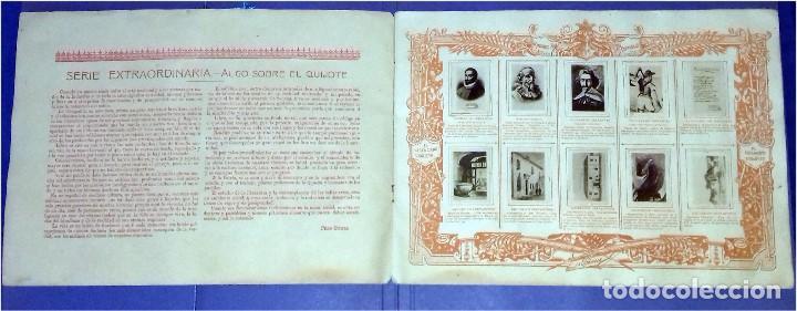 Coleccionismo Álbum: Compañía Arrendataria de Cerillas y Fósforos en el año 1905 - III Centenario del Quijote - Álbum - Foto 2 - 82948752