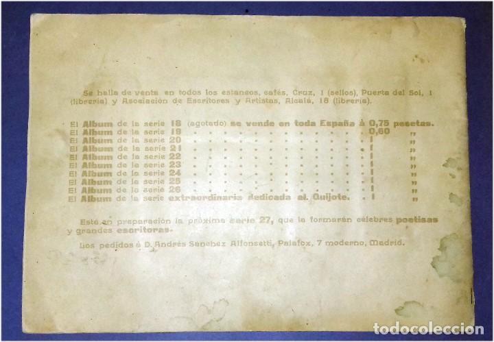 Coleccionismo Álbum: Compañía Arrendataria de Cerillas y Fósforos en el año 1905 - III Centenario del Quijote - Álbum - Foto 7 - 82948752