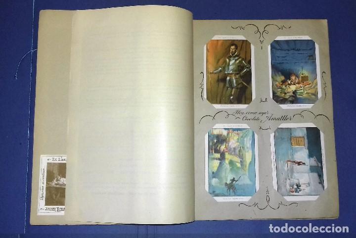 Coleccionismo Álbum: CHOCOLATES AMATLLER - DON QUIJOTE DE LA MANCHA - COMPLETO Y EN PERFECTO ESTADO - 1954- SEGRELLES - Foto 4 - 83024180