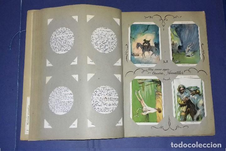 Coleccionismo Álbum: CHOCOLATES AMATLLER - DON QUIJOTE DE LA MANCHA - COMPLETO Y EN PERFECTO ESTADO - 1954- SEGRELLES - Foto 7 - 83024180