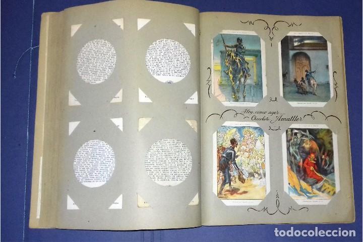 Coleccionismo Álbum: CHOCOLATES AMATLLER - DON QUIJOTE DE LA MANCHA - COMPLETO Y EN PERFECTO ESTADO - 1954- SEGRELLES - Foto 8 - 83024180