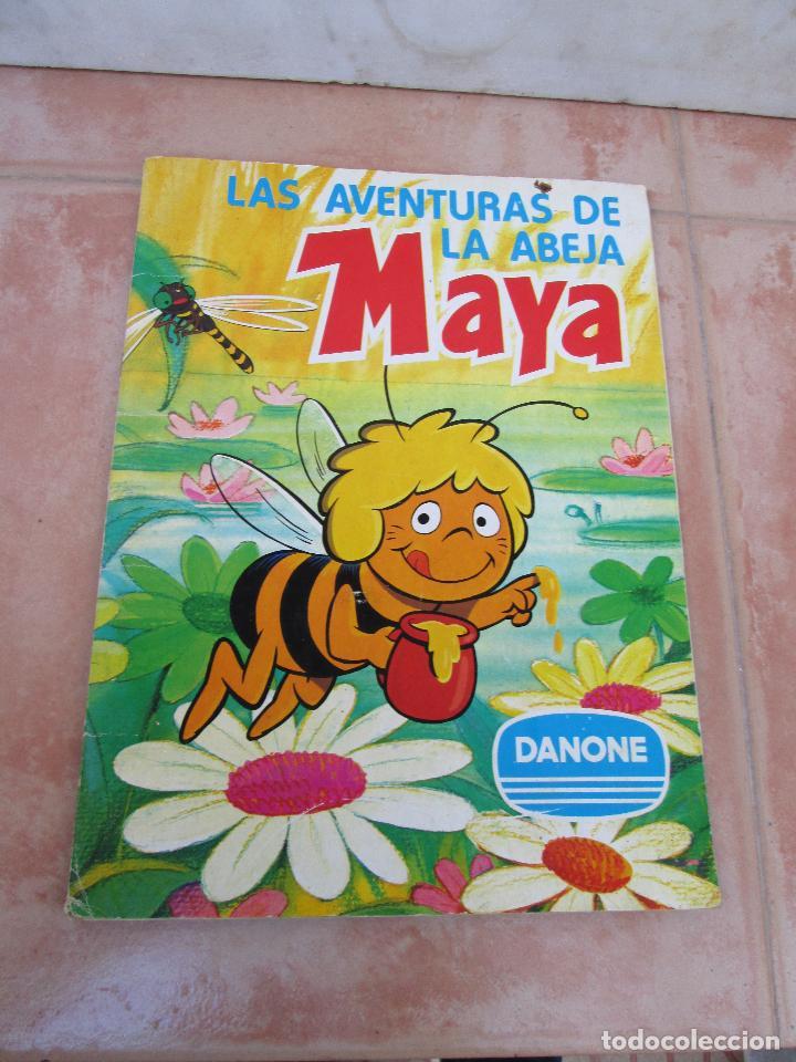 ÁLBUM LAS AVENTURAS DE LA ABEJA MAYA DE DANONE COMPLETO (Coleccionismo - Cromos y Álbumes - Álbumes Completos)