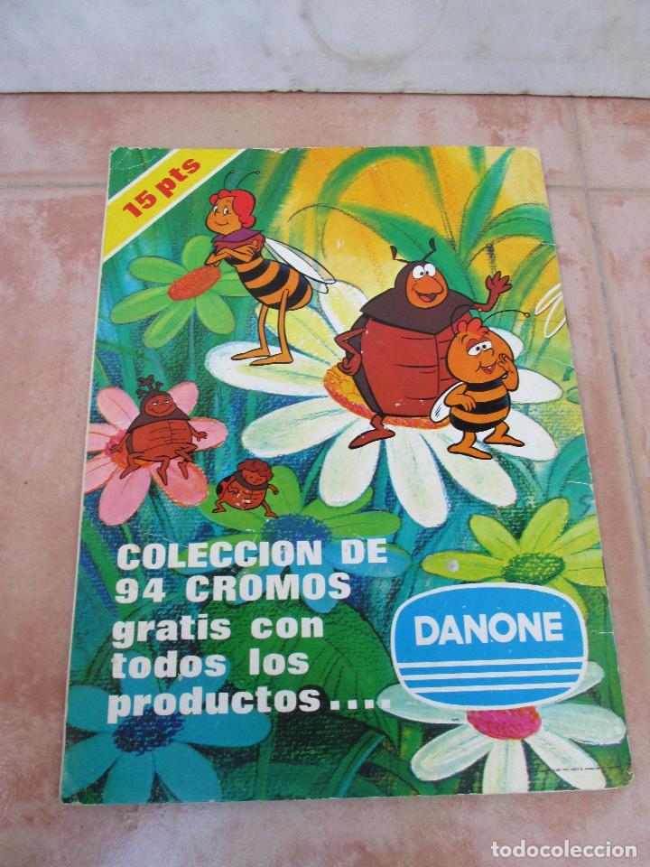 Coleccionismo Álbum: Álbum Las Aventuras de la Abeja Maya de Danone Completo - Foto 2 - 83045756