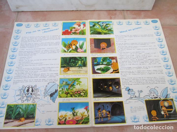 Coleccionismo Álbum: Álbum Las Aventuras de la Abeja Maya de Danone Completo - Foto 4 - 83045756