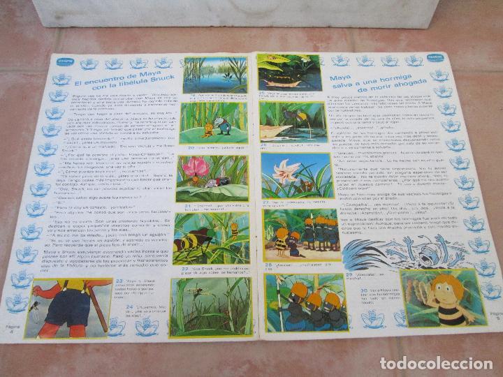 Coleccionismo Álbum: Álbum Las Aventuras de la Abeja Maya de Danone Completo - Foto 5 - 83045756