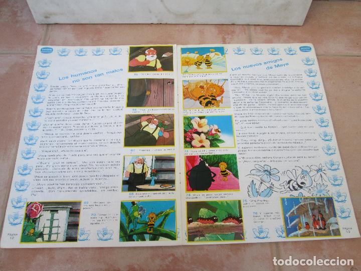 Coleccionismo Álbum: Álbum Las Aventuras de la Abeja Maya de Danone Completo - Foto 6 - 83045756