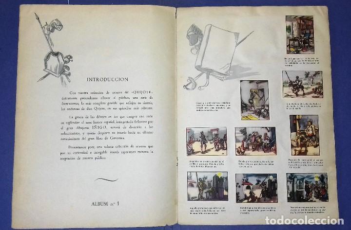 Coleccionismo Álbum: ÁLBUM DON QUIJOTE DE LA MANCHA - PRIMERA ED - 1950 - ARCHIVO DEL ARTE·ILUSTRADO POR IÑIGO. IMPECABLE - Foto 3 - 83117708