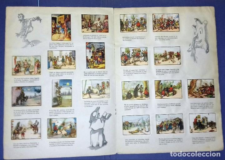 Coleccionismo Álbum: ÁLBUM DON QUIJOTE DE LA MANCHA - PRIMERA ED - 1950 - ARCHIVO DEL ARTE·ILUSTRADO POR IÑIGO. IMPECABLE - Foto 4 - 83117708
