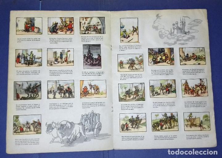 Coleccionismo Álbum: ÁLBUM DON QUIJOTE DE LA MANCHA - PRIMERA ED - 1950 - ARCHIVO DEL ARTE·ILUSTRADO POR IÑIGO. IMPECABLE - Foto 5 - 83117708