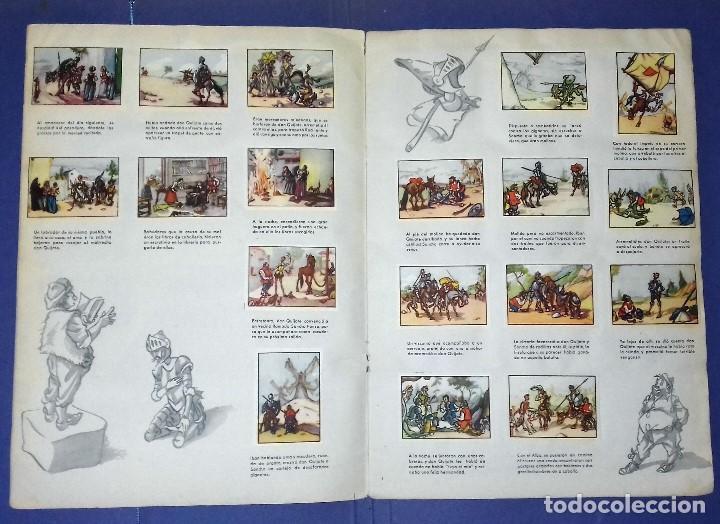 Coleccionismo Álbum: ÁLBUM DON QUIJOTE DE LA MANCHA - PRIMERA ED - 1950 - ARCHIVO DEL ARTE·ILUSTRADO POR IÑIGO. IMPECABLE - Foto 6 - 83117708